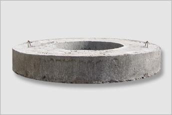 Tilbehør til fordelingsbrønde - Aflastnings ring i beton