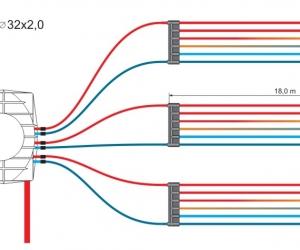 Illustration af Energeos flerdelte horisontale opsamler
