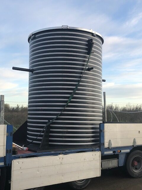 Specialbrønde - Kondensopsamlingsbrønd til Biogas anlæg