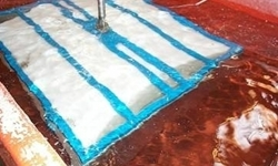 Rotationsstøbning - trykprøvning af plast emne