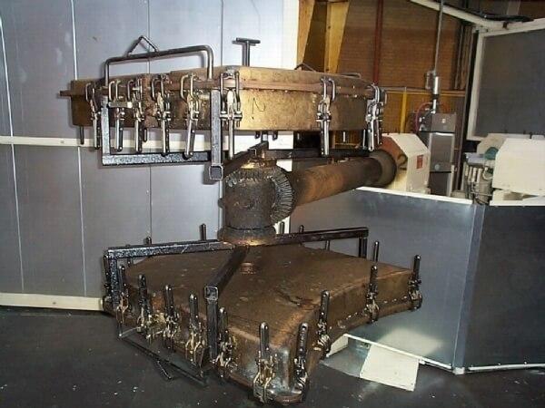 Rotationsstøbning - støbemaskine
